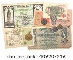 collectibles coins banknotes... | Shutterstock . vector #409207216