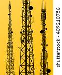 communication transmission... | Shutterstock .eps vector #409210756