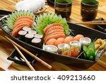 japanese food | Shutterstock . vector #409213660