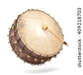 ramadan drum 3d rendered... | Shutterstock . vector #409218703