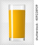Orange Juice In A Glass....