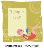 vector illustration of cool... | Shutterstock .eps vector #40924909