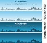 brussels event banner | Shutterstock .eps vector #409254550