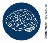 brain storming design  | Shutterstock .eps vector #409266040