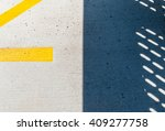 abstract shadow on concrete... | Shutterstock . vector #409277758