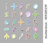 Colored Elegant Arrows Sticker...