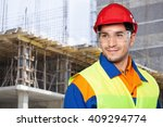 manual worker. | Shutterstock . vector #409294774