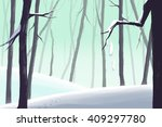 creative illustration and... | Shutterstock . vector #409297780