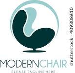 furniture logo template  | Shutterstock .eps vector #409308610