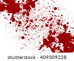 vector splatter red color... | Shutterstock .eps vector #409309228