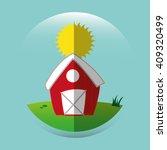 farm fresh design  | Shutterstock .eps vector #409320499