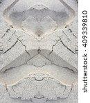 crack sand texture background | Shutterstock . vector #409339810