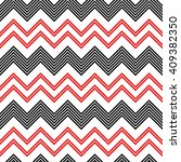 seamless zigzag pattern.... | Shutterstock .eps vector #409382350