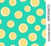 lemon illustration. textiles ... | Shutterstock . vector #409390873