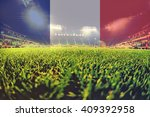 euro 2016 stadium with blending ... | Shutterstock . vector #409392958