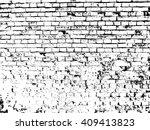 brick wall texture effect   Shutterstock .eps vector #409413823