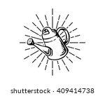 water pot image | Shutterstock .eps vector #409414738