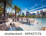 brisbane  aus   april 17 2016 ... | Shutterstock . vector #409427176