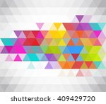 abstract background consisting... | Shutterstock .eps vector #409429720
