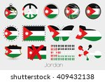 many different styles of flag... | Shutterstock . vector #409432138