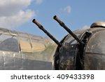 Постер, плакат: WW2 Lancaster Bomber Gun