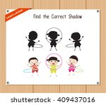 find the correct shadow ... | Shutterstock .eps vector #409437016