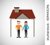 family design  relationship and ...   Shutterstock .eps vector #409443196