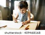 offspring toddler adolescence... | Shutterstock . vector #409468168
