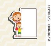 happy family design  | Shutterstock .eps vector #409481689