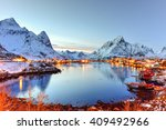 Winter In Reine  Lofoten...