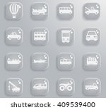 transportation simply icons for ... | Shutterstock .eps vector #409539400