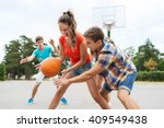 summer vacation  sport  games... | Shutterstock . vector #409549438