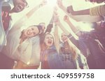 friends friendship leisure...   Shutterstock . vector #409559758