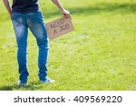 employment opportunity  young... | Shutterstock . vector #409569220