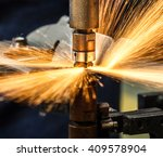 industrial welding automotive... | Shutterstock . vector #409578904