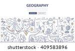 doodle vector illustration of... | Shutterstock .eps vector #409583896