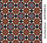 seamless vector geometric... | Shutterstock .eps vector #409598920
