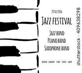 Jazz Festival. Vector Poster....
