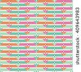 ethnic boho seamless pattern.... | Shutterstock .eps vector #409643983