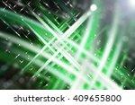 abstract green fractal... | Shutterstock . vector #409655800