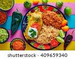 chili relleno chili pepper... | Shutterstock . vector #409659340