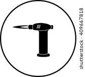 butane torch | Shutterstock .eps vector #409667818