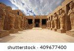 anscient temple of karnak in... | Shutterstock . vector #409677400