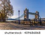 London City In Spring