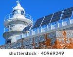 Lighthouse With Energy Solar