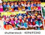 xochimilco dolls | Shutterstock . vector #409695340