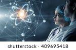 innovative technologies in... | Shutterstock . vector #409695418