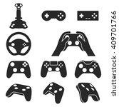 Video Game Controllers Black...