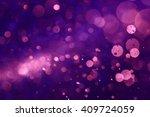 Purple Bokeh Abstract...