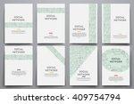 corporate identity vector... | Shutterstock .eps vector #409754794